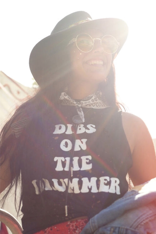 Dibs on the Drummer Tank - Mamie Ruth