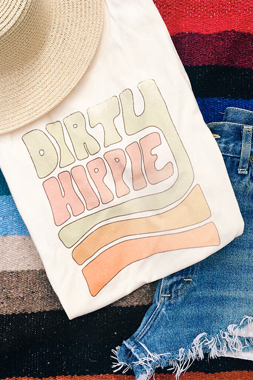 Dirty Hippy Tee - $ 58.00