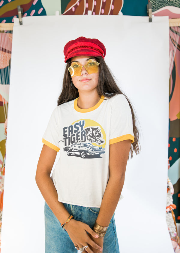 Easy Tiger Tee - Mamie Ruth
