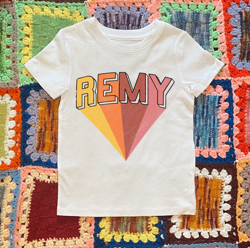 Personalized Kid's Tee - Mamie Ruth