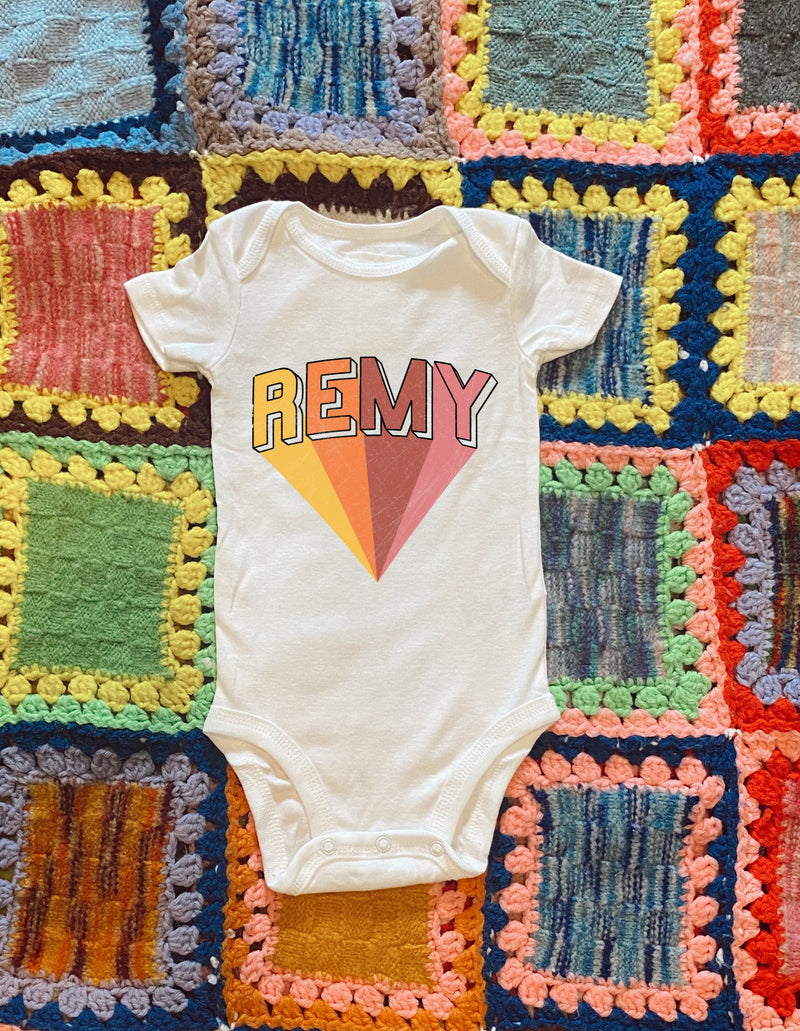 Personalized Onesie - Mamie Ruth