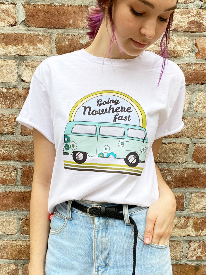 Going Nowhere Tee - Mamie Ruth