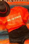 Win the Poiints Orange - Mamie Ruth
