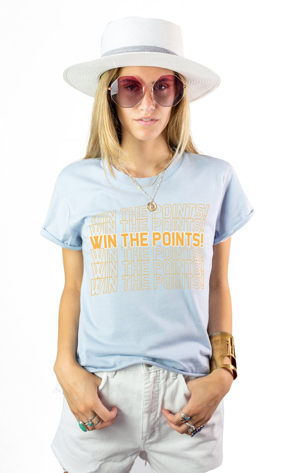 WIN THE POINTS TEE - Mamie Ruth