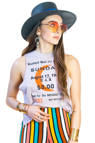 Lilac Woodstock Ticket Tank - $ 62.00