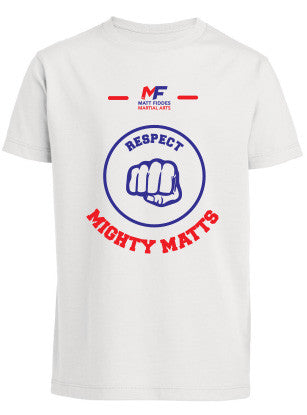 MF Mighty Matts Respect T-shirt Children (MAF0214)