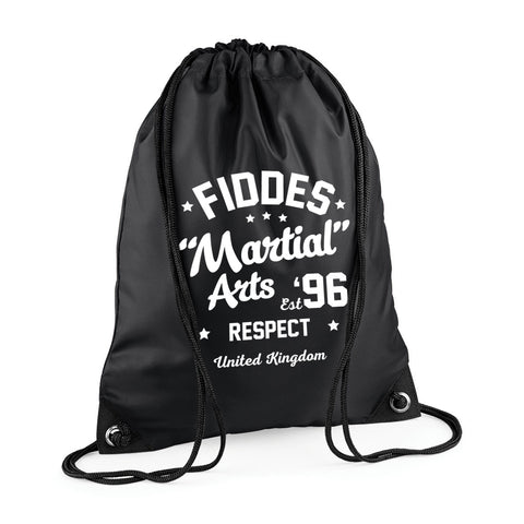 MF Black Draw String Bag (MAF0235)