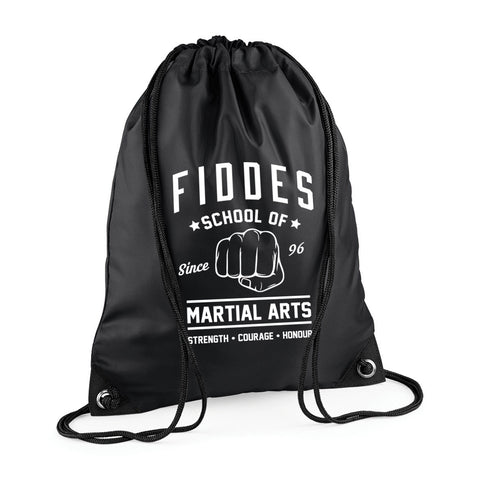 MF Black Draw String Bag (MAF0234)