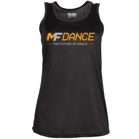MFDANCE Vest Top Black Ladies (MAF0011)
