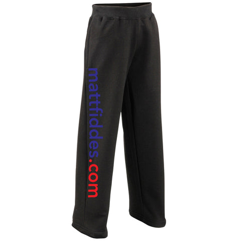 MF Joggers Black Childrens (MAF0040)