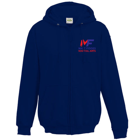 MF Zipped Hoodie Oxford Navy Adult (MAF0100)