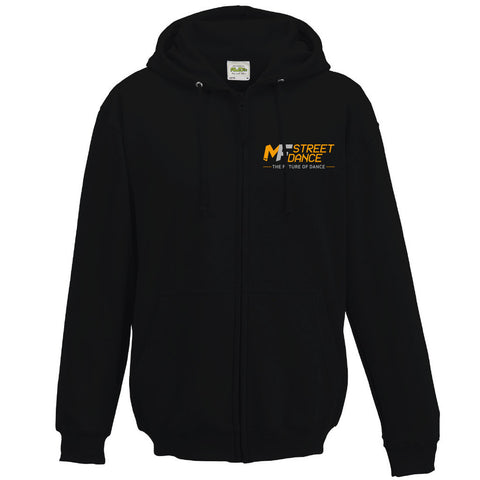 MFDANCE Zipped Hoodie Black Adult (MAF0104)