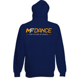 MFDANCE Zipped Hoodie Oxford Navy Adult (MAF0106)