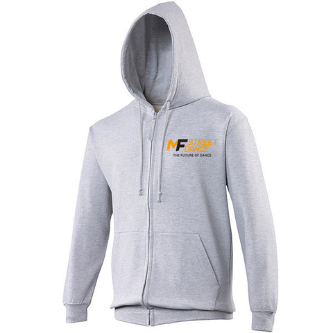 MFDANCE Zipped Hoodie Grey Adult (MAF0108)