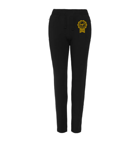MF Dance Elite Ladies Slim Fit Tapered Cuffed Joggers (MAF0349)
