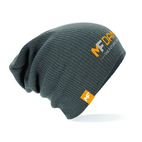 MF Dance Smoke Grey Unisex Slouch beanie (MAF308)