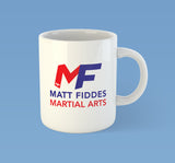 MF Coffee Mug printed front and back