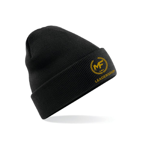 MF Leadership Beanie Hat Embroidered Adult (MAF0297)