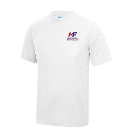MF Kids White technical T-Shirt Adult (MAF0342)