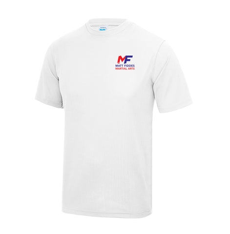 MF White technical T-Shirt Adult (MAF0341)