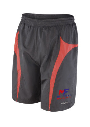 MF Shorts Black and Red Adult (MAF0240)
