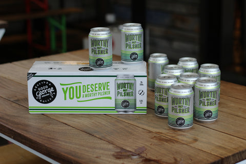 Worthy Hazy Pilsner 10 Pack