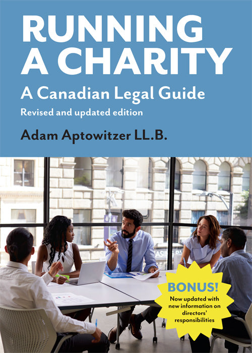 Running a Charity: A Canadian Legal Guide