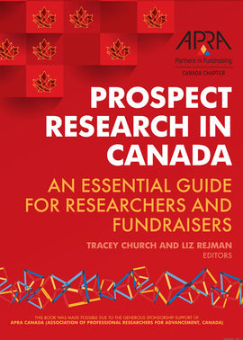 Prospect Research in Canada: PDF Chapters