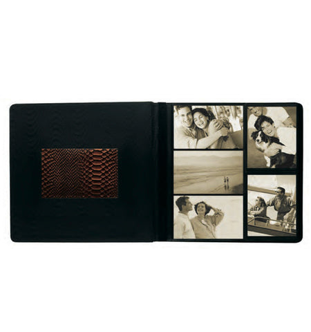 113C -Front-Framed Combination Large Photo Album