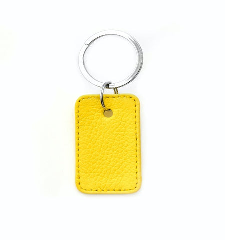 222 - Rectangle Keychain