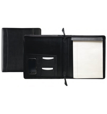 143 - ZIPPER PORTFOLIO/WRITING PAD