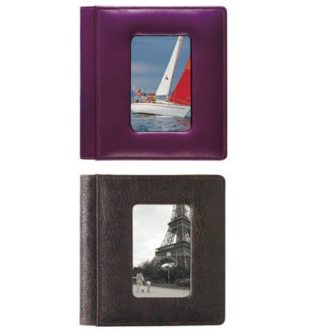 "168 - 4"" x 6"" Foldout Framed-Front Photo Album"