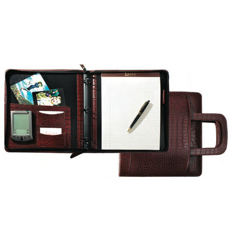 179 - ZIPPER BINDER WITH RETRACTABLE HANDLE