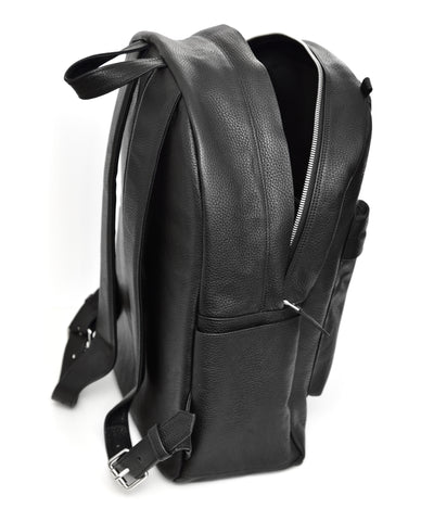 225 - Large Leather Backpack