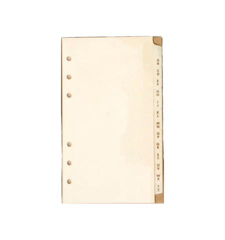 605 - A-Z 13-Tab Dividers