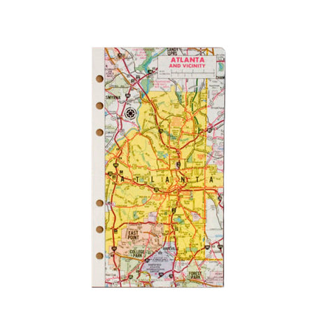 611 - Maps (16 Pages/16 Cities)