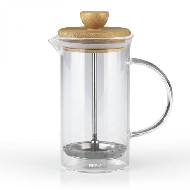 BEEM COFFEE PRESS Kaffeebereiter - 0,35 l | 2 - 3 Tassen | French Press Kaffee | Bambus - twicce.de