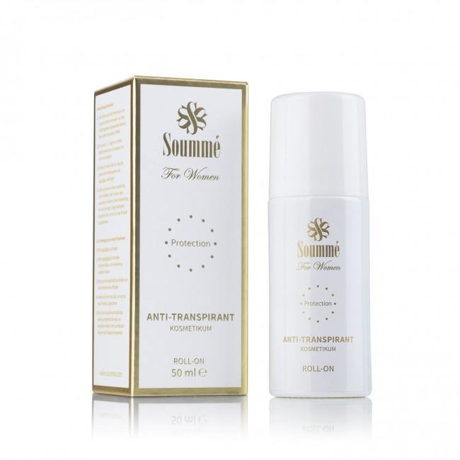 Soummé Antitranspirant Protection Roll-On for Women - 50 ml - Kosmetikum