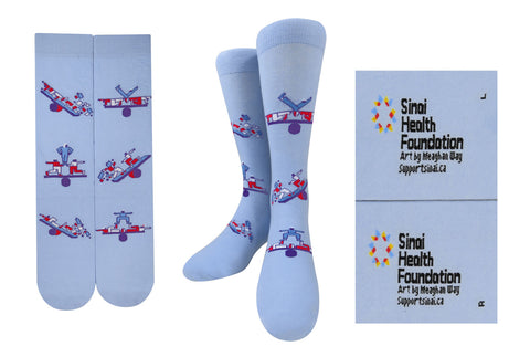 Socks - Art by Meaghan Way - in support of Emergency Medicine