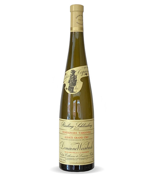 Riesling Grand Cru,  Schlossberg,  Vendange Tardive,Domaine Weinbach, Alsace, France 2013