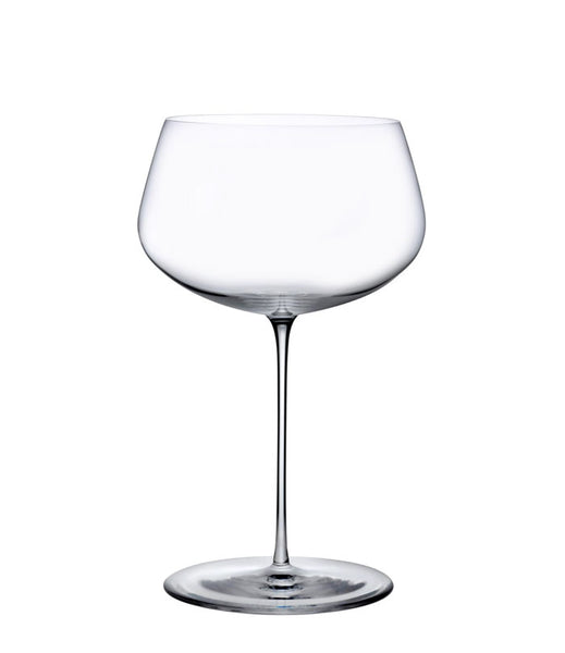 Stem Zero Powerful White glass by Nude - Set of 2