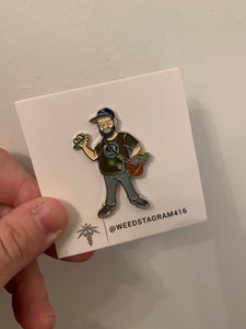 Mini Jon Pin - Wizard Pins x Boveda x Beck Collab