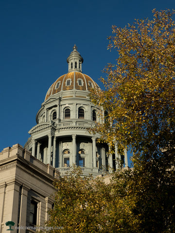 Colorado State Capitol in the Fall