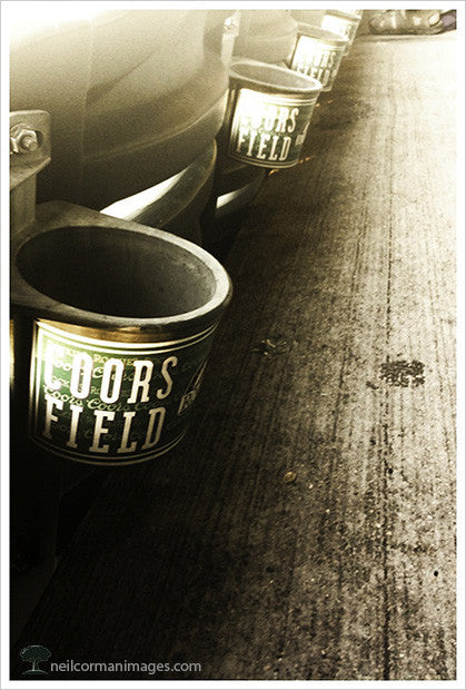 Coors Field Cup Holders