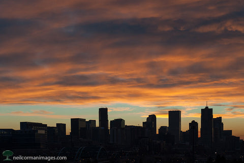 First Sunrise of 2013 in Denver