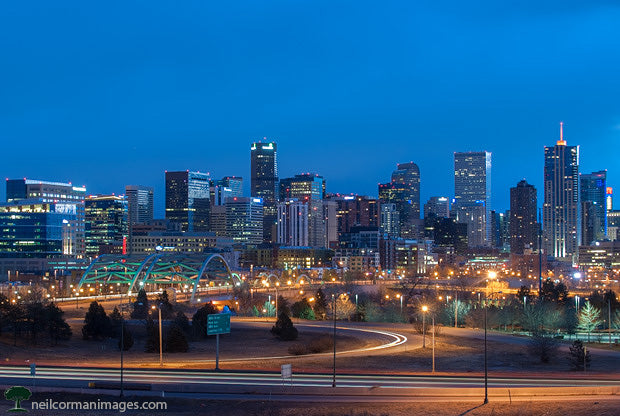 Denver Sunrise and the Skyline in 2014