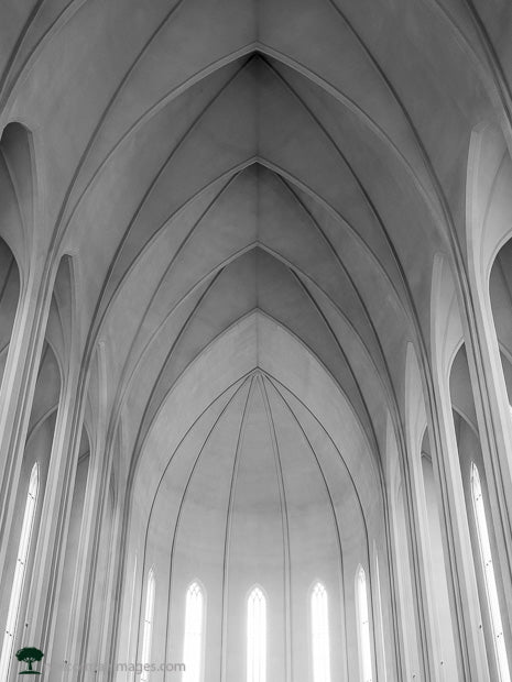 Window Light in Hallgrímskirkja
