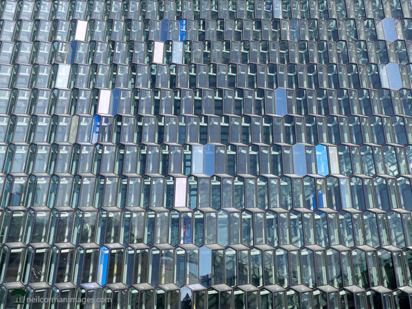 The Front of Harpa