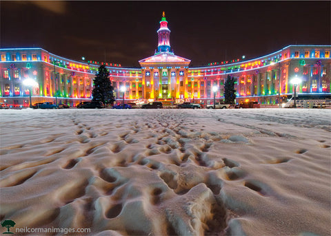 Holidays in Denver - Civic Center Park
