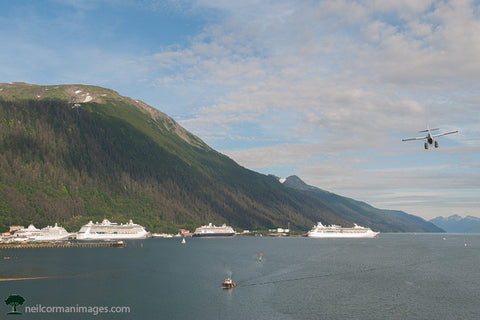 Summer Evening in Juneau